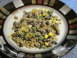 Quinoa & Black Beans Gluten Free & Vegan!
