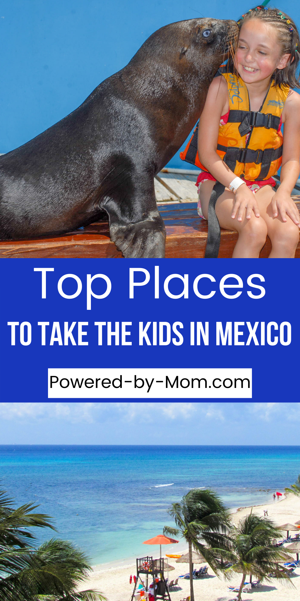 There are so many places to take kids in Mexico you might have hard time deciding where to start. We're sharing some of the top places!