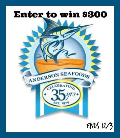 anderson seafood 300 gift card