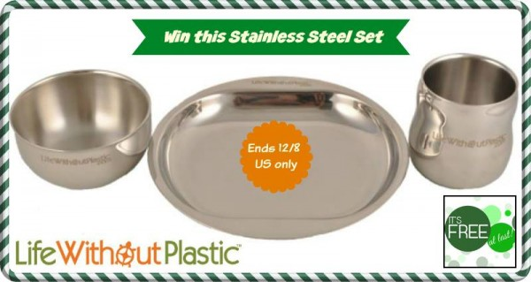 life without plastic - stainless steel