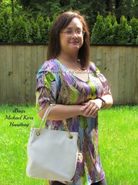 powered by mom michael kors handbag