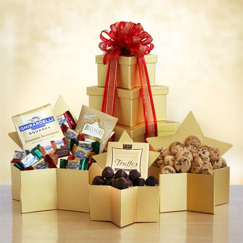 Star Tower of Holiday Sweets