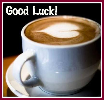 coffee good luck