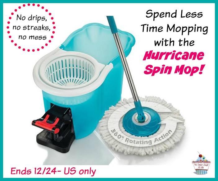 hurrican spin mop