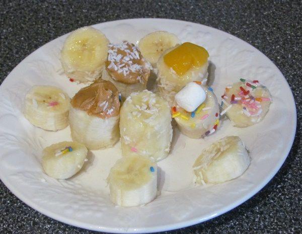 banana toppers