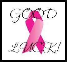 good luck pink ribbon