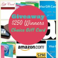 250 gift card button