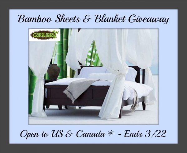 cariloha sheets & blanket button