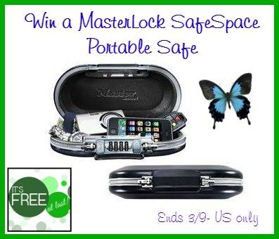masterlock portable safe