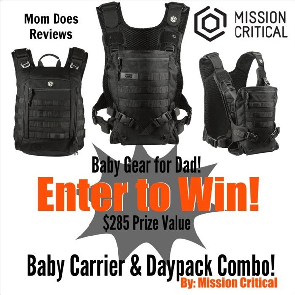 Mission Critical Baby Carrier Giveaway Ends 4 10 Us Only