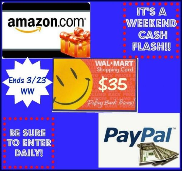 weekend cash flash 35