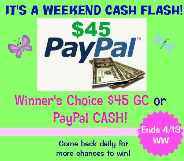 WEEKEND cash flash april 10