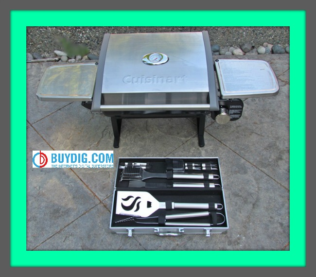 Cuisinart Grill and Tools framed