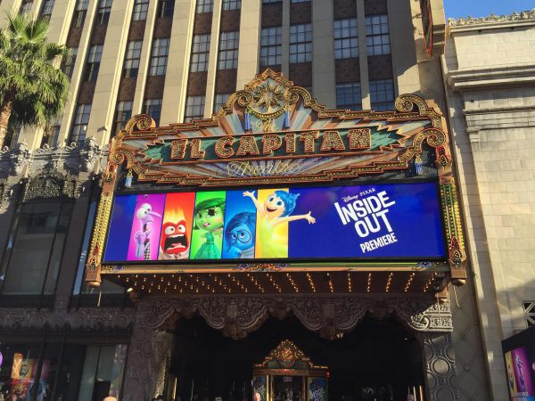 Inside Out Red Carpet