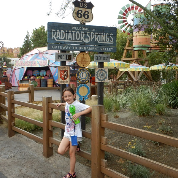 Disneyland RAdiator springs fan