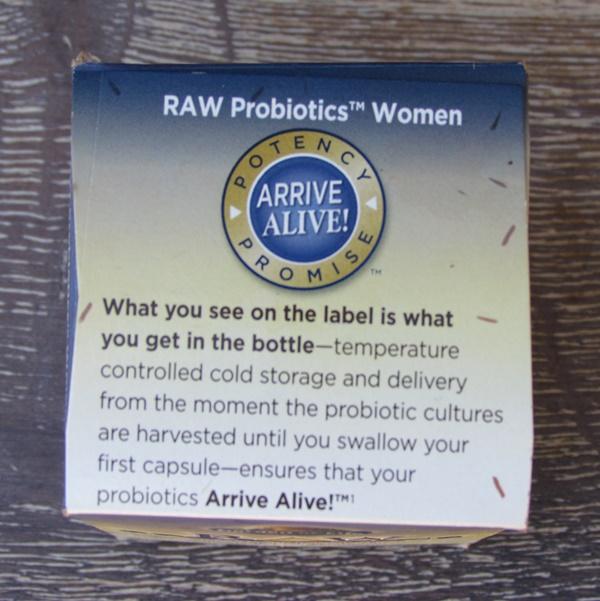 RAW probiotics women arrive live