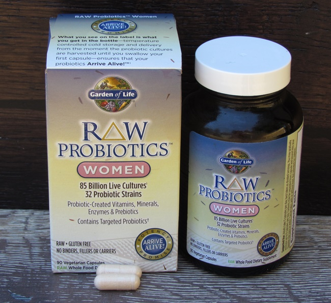 Garden of Life RAW Probiotics for Women Powered By Mom