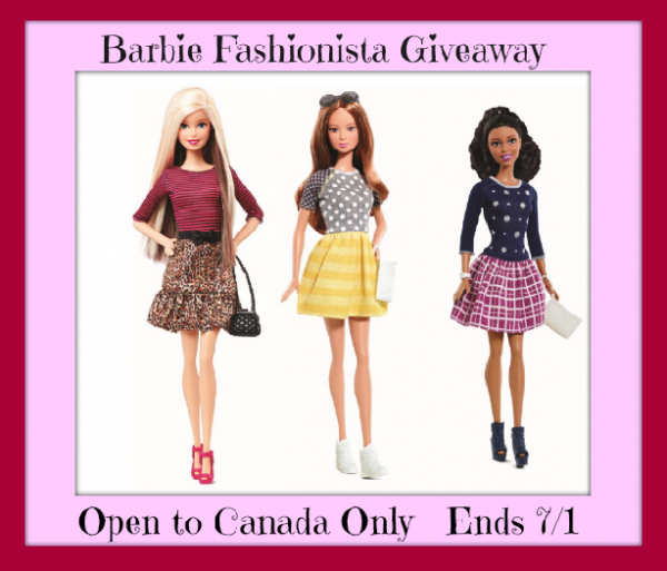 barbie fashionista button