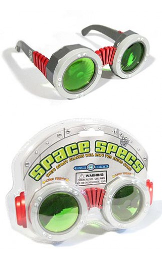tin toy arcade space glasses