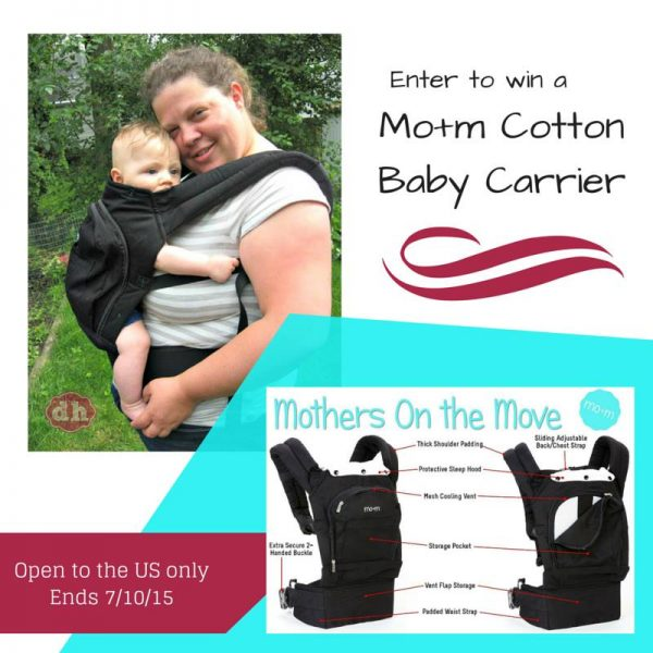 mom cotton carrier