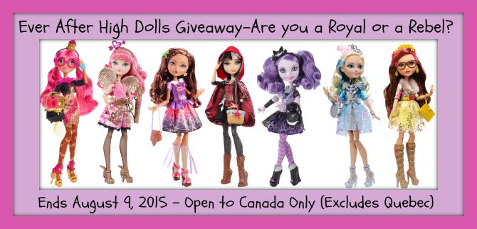 ever after high dolls button