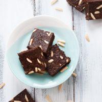 10. Triple Almond Brownies