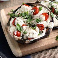 19. Portobello Mushroom Pizzas