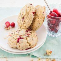 6. Cranberry Coconut Chia Scones