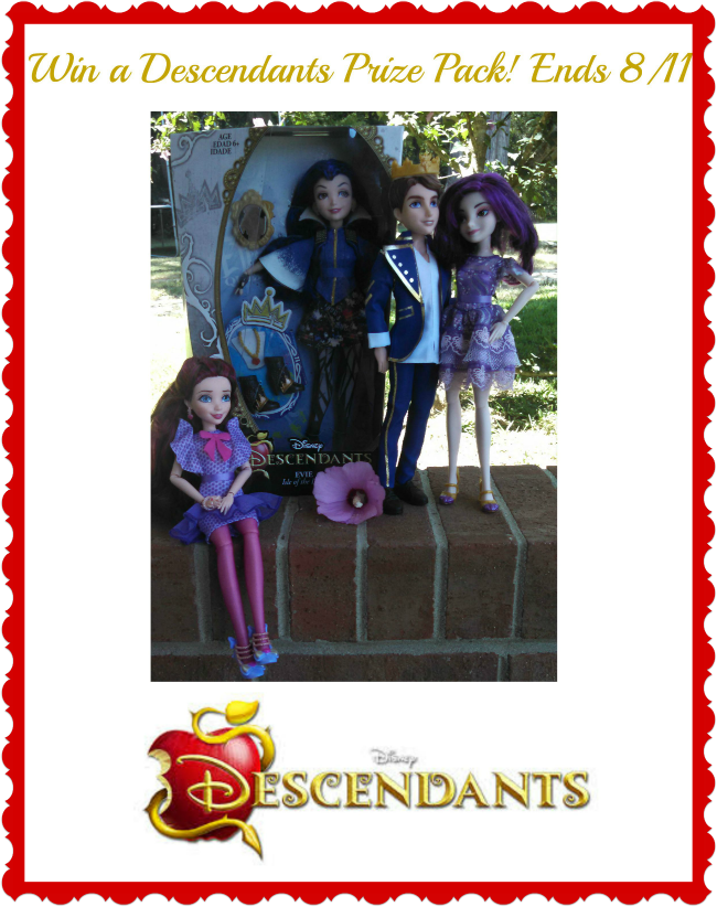 Descendants dolls giveaway
