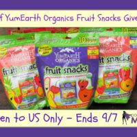 YumEarth fruit snacks giveaway