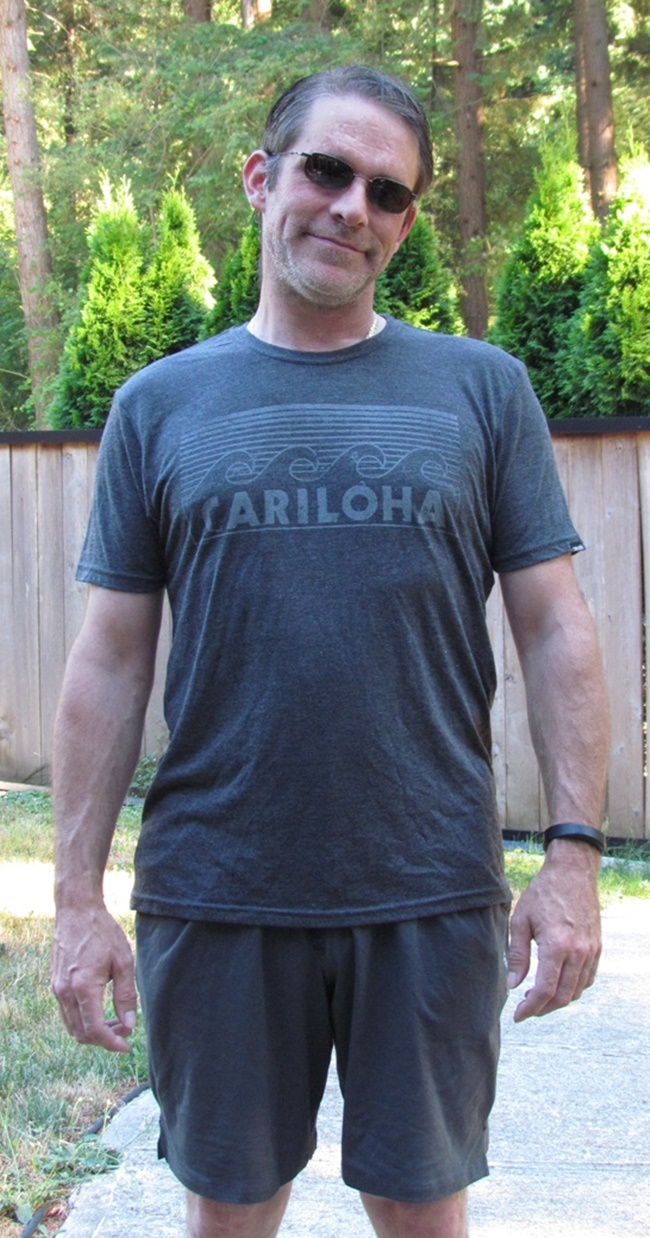 Cariloha dad shirt and shorts