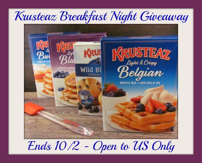 Krusteaz breakfast night