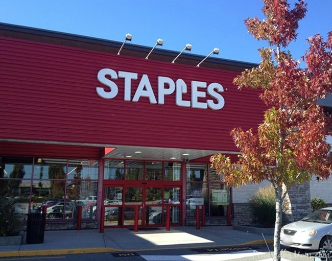 Staples store