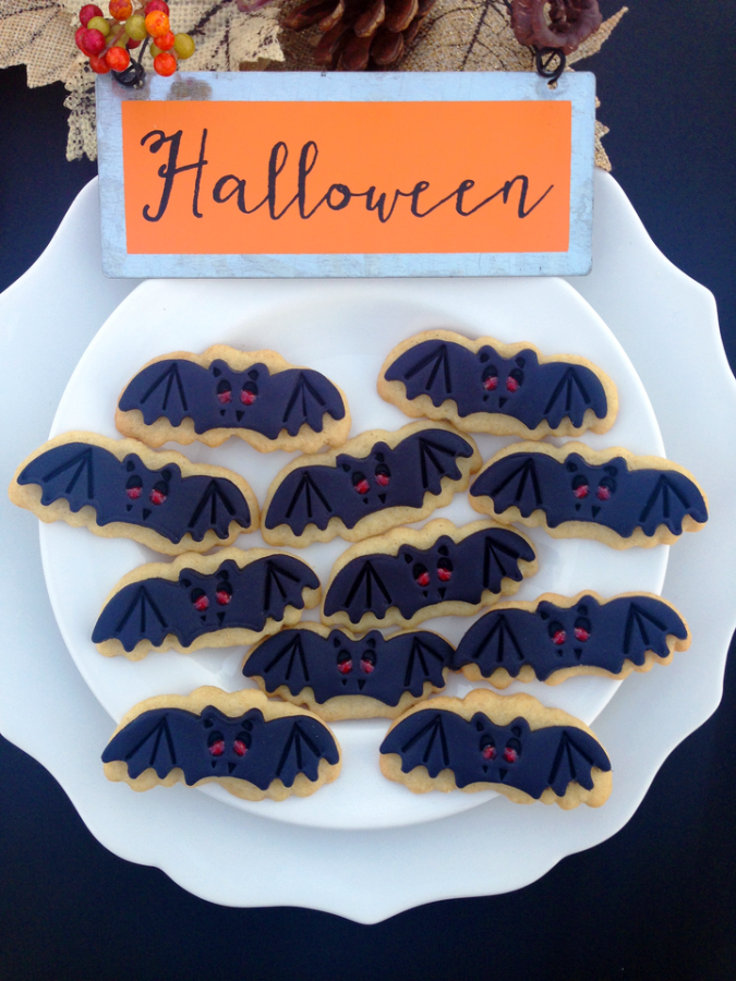 Bat Sugar Cookies Recipe