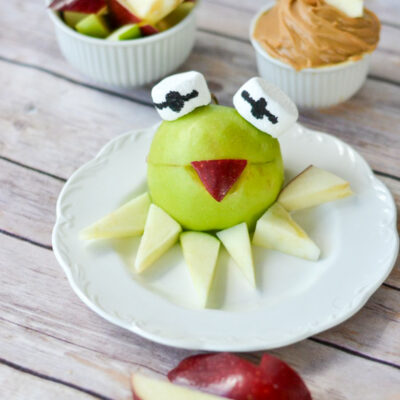 Fun Healthy Snack for Kids with Kermit the Frog