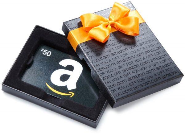 50 amazon gift box