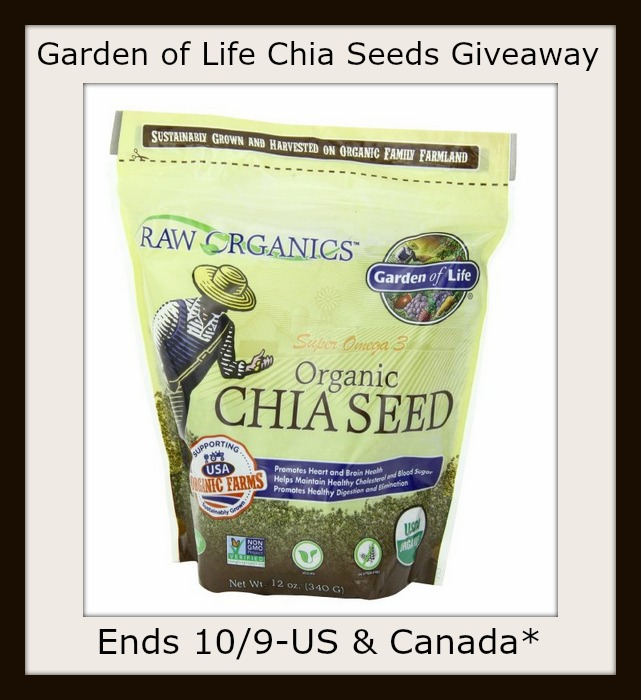 Chia seeds button