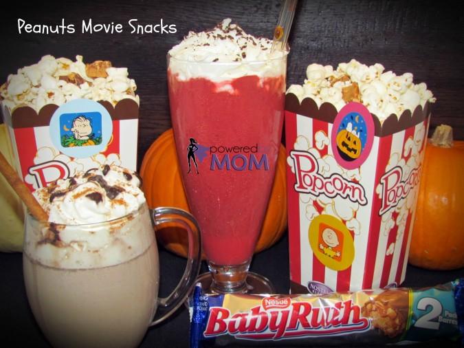 Peanuts Movie Snacks and Drinks PBM