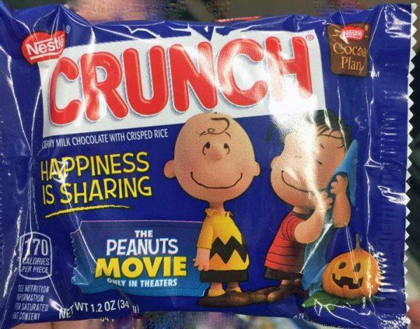 Peanuts crunch