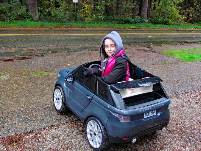 Range Rover Powered Ride