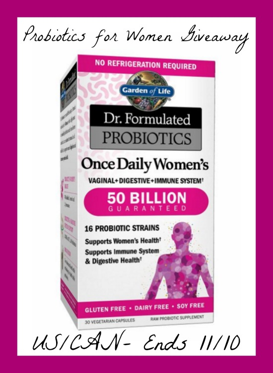 Probiotics For Women Giveaway Powered By Mom