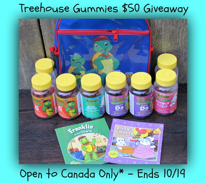 treehouse gummies giveaway