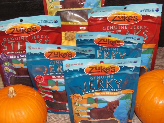 Zukes Jerky & Steak Treats
