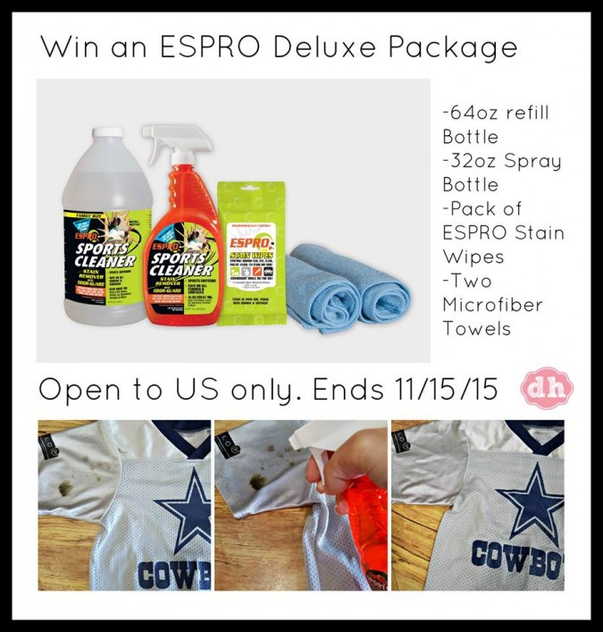 espro sports cleaning