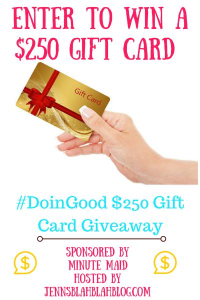 250 gift card