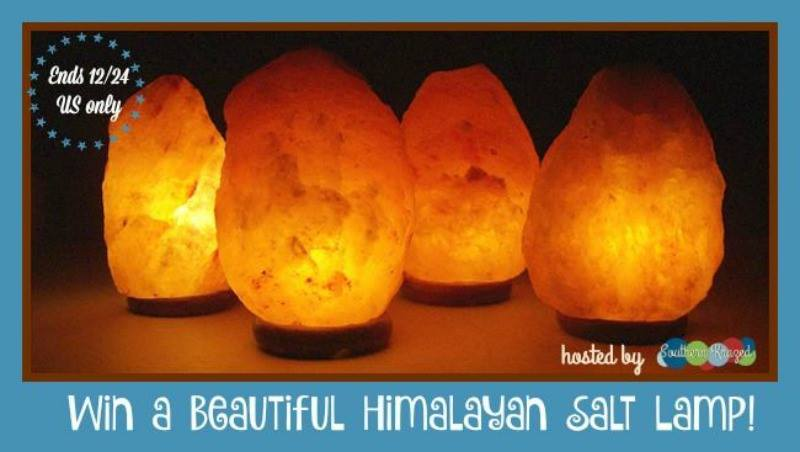 Himalayan Salt Lamp Giveaway - Powered By Mom