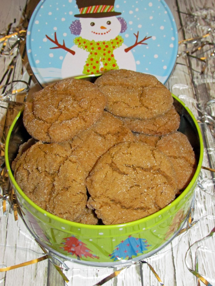 krusteaz gingerbread cookies tin