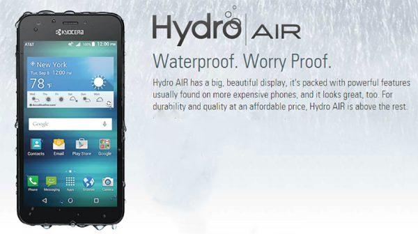 kyocera hydro-air