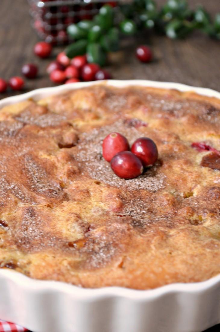 AppleCranberrycake