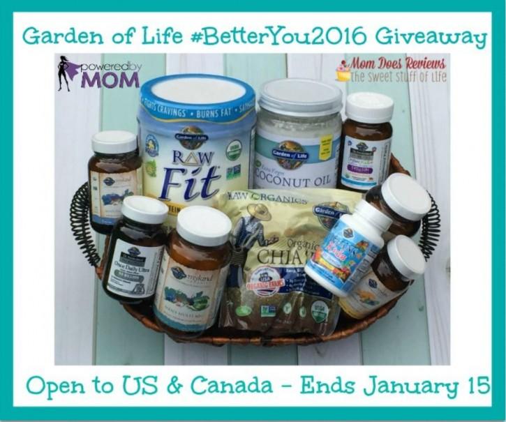 Garden of Life 2016 Better You
